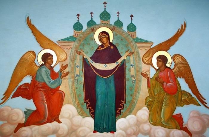 Молитвы на Покров день о детях